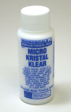 Micro Scale Micro Kristal Klear MI-9 Window Maker & Clear Adhesive Craft - Hobby