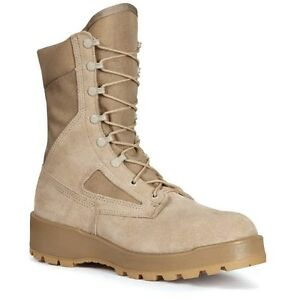 ROCKY Hot Weather Military Duty Combat Boot Tan #282