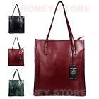Women's Genuine Leather Shoulder Tote bag Shopper Shopping Cabas Satchel bag