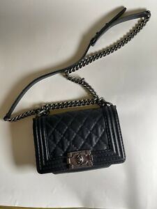Chanel boy Shoulder bag Small In Black