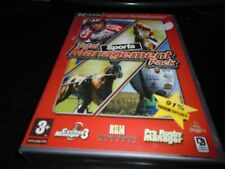 Total Sports Management pack, Pro rugby manager,HRM, Cycling manager 3    Pc