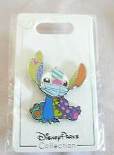 """Disney Fantasy Pin Multicolor Stitch Face Mask Fan Made Pin 1.75 """""""