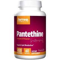 Jarrow Formulas Pantethine 450 mg 60 Softgels