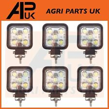 6 x 15W LED work Light Lamp 12V Flood Beam 24V Truck Tractor Jeep ATV Car Boat