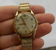 RARE Vintage Men's Bulova Automatic Gold Filled Watch Wristwatch Swiss Working
