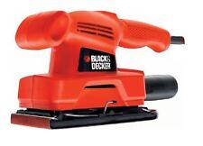 BLACK&DECKER LEVIGATRICE ORBITALE 125 WATT B&D KA295 pialla elettrica 125w