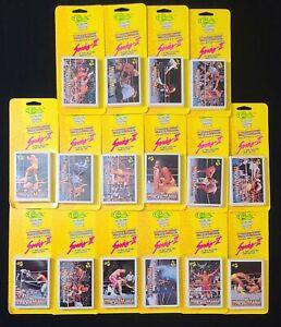 1990 WWF Wrestling The History Of WrestleMania Series II Bundle Blister Packs