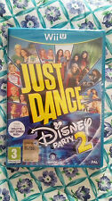 Just Dance Disney Party 2  WII U EDIZIONE ITALIANA NUOVO