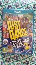 Just Dance Disney Party 2  WII U EDIZIONE ITALIANA NUOVO