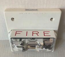 Wheelock Rsswp 24mcch Fw Fire Alarm Strobe Horn 24vdc Ceiling Mount 125187
