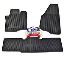 New OEM Floor Mats All-Weather Thermoplastic Rubber, 2011-2016 F250 Super Cab