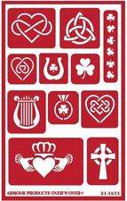 Armour Reusable Over n Over Glass Etching Stencil - ONO Celtic