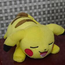 "in hand Pikachu Sleep style Pokemon Plush Doll 9"" Soft Toy"