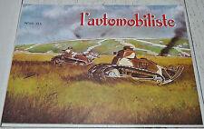 L'AUTOMOBILISTE 1978 N°50 DARRACQ DEMONGEOT CHAR RENAULT FT 17 GUERRE 14-18