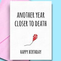 Birthday Cards For Uncle Sister Son Aunt Fun Rude Adult Comedy