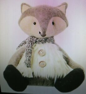 Fox with furry waistcoat
