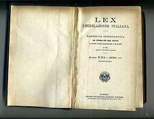 LEX LEGISLAZIONE ITALIANA # Anno XXI Gennaio-Giugno 1935 XIII # UTET 1935