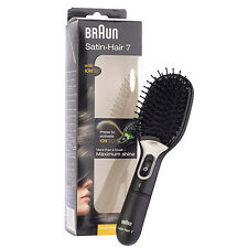1PC Braun Satin-Hair 7 Brush with IONTEC Active Ions Restore Healthy Shine