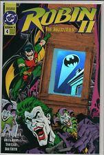 Robin II Jokers Wild #4 Hologram  UNUSED     L1.279