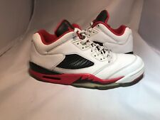 Jordan 5 Reto Low Fire Red Laney Olive Laser Metallic Bulls Bred Gamma Supreme