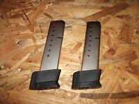 2 - 10rd extended magazines clips for Smith & Wesson 4506 & 645 - .45acp  (S175)