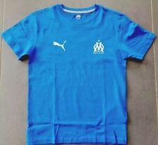 tee shirt garcon bleu enfant personnalisé olympique Marseille OM