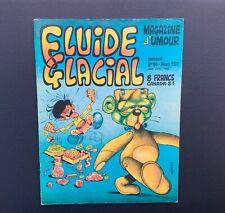 Fluide Glacial n°10. Magazine d'umour. Éd Audie 1977