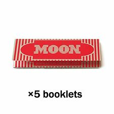 Moon Cigarette Tobacco Rolling Papers 70*36mm 5 Booklets=250 leaves smoking