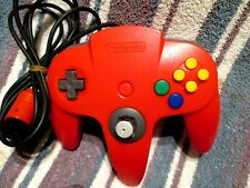 Original Nintendo 64 N64 Red Controller 9/10 NUS-005