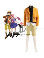 The Future Diary Amano Yukiteru Uniform Cosplay Costume,Customized Accepted