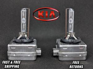Stock Fit HID Xenon Headlight Bulbs for Kia Cadenza 2014-2016 LOW Beam Set of 2