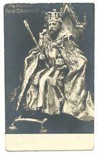 ROYALTY - HIS MAJESTY, KING EDWARD VII, CORONATION  Undivided Back TUCK Postcard