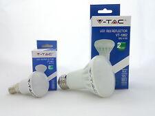 LAMPADA LAMPADINA FARETTO LED V-TAC R39 E14 3W O R63 E27 8W FUNGO ALTA QUALITA'