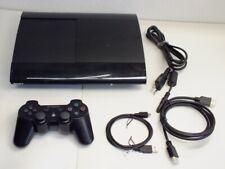 !!! PLAYSTATION PS3 Super Slim Konsole 12GB + Controller V4.80 GUT !!!