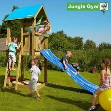 Jungle Gym Castle Climbing Frame - Build Your Own Plans