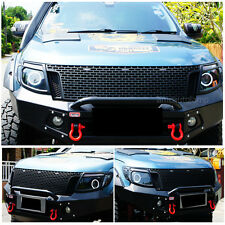 11 12 13 14 Fit  Ranger T6 Raptor Black Grille Xlt Px Ute Wildtrak Black Led