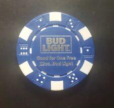 Philadelphia Eagles SuperBowl LII (Parade Memorabilia) Bud Light Poker Chips