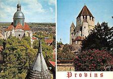 B31281 Provins En ville Hsute le dome de l`eglise Saint Quiriace et la t  france