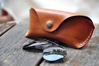 Celyfos® Handmade Real Leather Sunglasses case Spectacle Case Glasses Case Bag