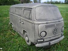 VW Camper Van (Bay) Stone Garden Ornament