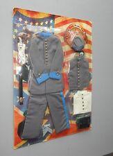 Rare In The Past Toys CS Confederate States Civil War Uniform 1/6 scale MOC Look