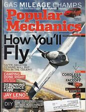 Popular Mechanics Magazine Jay Leno Tech Overload July 2006 HOW YOU'LL FLY /L8
