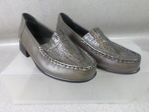 Like New Ziera Brown Leather Slip On Shoes - Womens Size AU 5.5