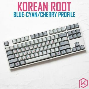 139 Korea Korean Root Font Language Letter Keycap PBT gh60 xd60 xd84 tada68 87 1