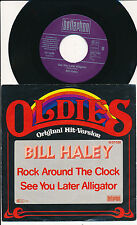 """BILL HALEY 45 TOURS 7"""" GERMANY SEE YOU LATER ALLIGATOR"""