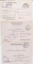 GERMANY WW II OFLAG 6B POW COVER COLLECTION