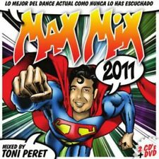 MAX MIX 2011 - MIXED BY TONI PERET 2CDS + DVD [CD]