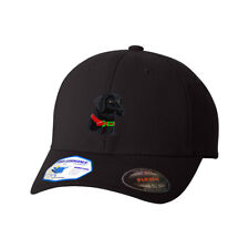 Black Lab Head Flexfit® Pro-Formance® Embroidered Cap Hat