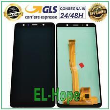 DISPLAY LCD PER SAMSUNG GALAXY A7 2018 A750F SM-A750F TOUCH SCREEN VETRO NERO