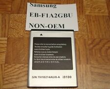 Brand New NON OEM Standard Battery for Samsung GALAXY S II (I9100) EB-F1A2GBU